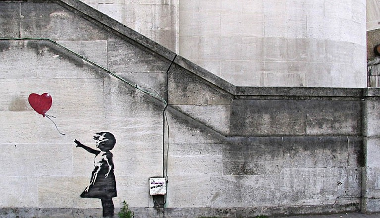 Открытие выставки Art of Banksy в Будапеште